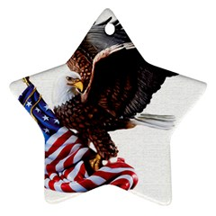 Independence Day United States Star Ornament (two Sides)
