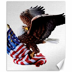 Independence Day United States Canvas 8  x 10