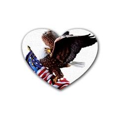 Independence Day United States Heart Coaster (4 Pack)