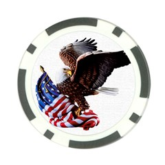 Independence Day United States Poker Chip Card Guard (10 Pack)