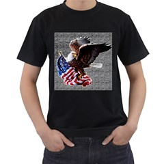 Independence Day United States Men s T-Shirt (Black)