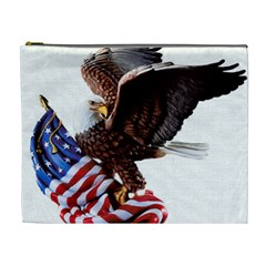 Independence Day United States Cosmetic Bag (xl)