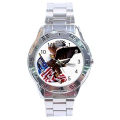 Independence Day United States Stainless Steel Analogue Watch