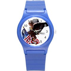 Independence Day United States Round Plastic Sport Watch (s)