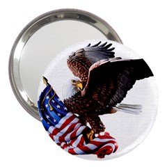 Independence Day United States 3  Handbag Mirrors