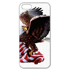 Independence Day United States Apple Seamless iPhone 5 Case (Clear)