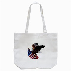 Independence Day United States Tote Bag (White)
