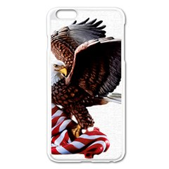 Independence Day United States Apple iPhone 6 Plus/6S Plus Enamel White Case