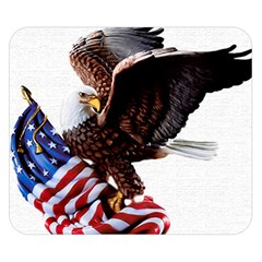 Independence Day United States Double Sided Flano Blanket (Small)