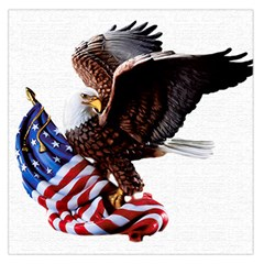 Independence Day United States Large Satin Scarf (square)
