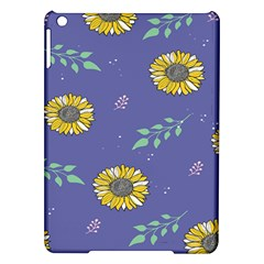 Floral Flower Rose Sunflower Star Leaf Pink Green Blue Yelllow iPad Air Hardshell Cases