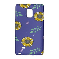 Floral Flower Rose Sunflower Star Leaf Pink Green Blue Yelllow Galaxy Note Edge