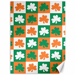 Ireland Leaf Vegetables Green Orange White Canvas 36  X 48
