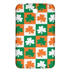Ireland Leaf Vegetables Green Orange White Samsung Galaxy Tab 3 (7 ) P3200 Hardshell Case