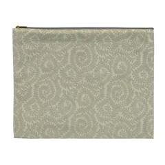 Leaf Grey Frame Cosmetic Bag (XL)