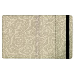Leaf Grey Frame Apple Ipad 2 Flip Case
