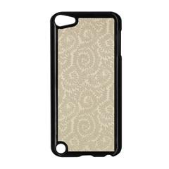 Leaf Grey Frame Apple iPod Touch 5 Case (Black)