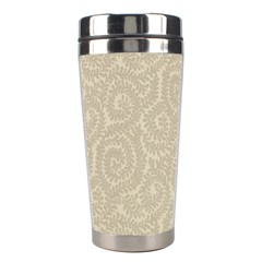 Leaf Grey Frame Stainless Steel Travel Tumblers