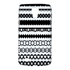 Love Heart Triangle Circle Black White Galaxy S4 Active
