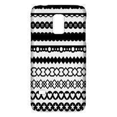 Love Heart Triangle Circle Black White Galaxy S5 Mini