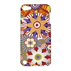 Flower Floral Sunflower Rainbow Frame Apple iPod Touch 5 Hardshell Case