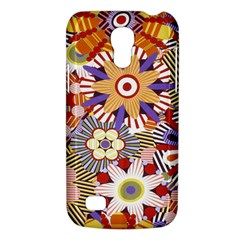 Flower Floral Sunflower Rainbow Frame Galaxy S4 Mini