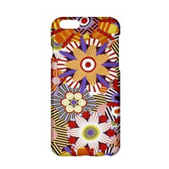 Flower Floral Sunflower Rainbow Frame Apple Iphone 6/6s Hardshell Case