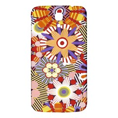 Flower Floral Sunflower Rainbow Frame Samsung Galaxy Mega I9200 Hardshell Back Case
