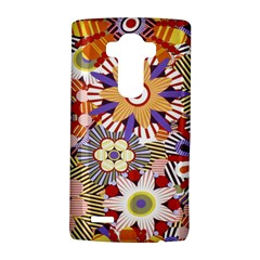 Flower Floral Sunflower Rainbow Frame LG G4 Hardshell Case