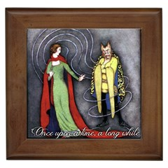 Beauty and the Beast Framed Tiles