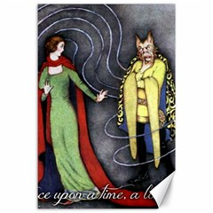 Beauty and the Beast Canvas 24  x 36