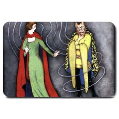 Beauty and the Beast Large Doormat