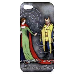 Beauty and the Beast Apple iPhone 5 Hardshell Case
