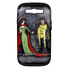 Beauty and the Beast Samsung Galaxy S III Hardshell Case (PC+Silicone)