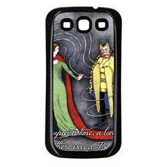 Beauty and the Beast Samsung Galaxy S3 Back Case (Black)