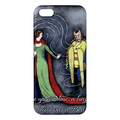 Beauty and the Beast iPhone 5S/ SE Premium Hardshell Case