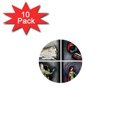 Fairy Tales 1  Mini Buttons (10 pack)