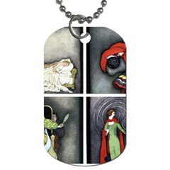 Fairy Tales Dog Tag (One Side)