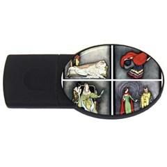 Fairy Tales USB Flash Drive Oval (4 GB)