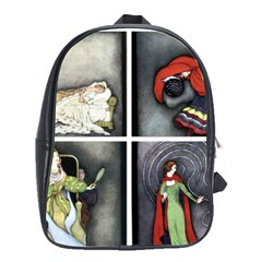 Fairy Tales School Bags(Large)