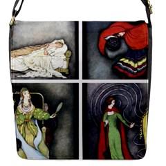 Fairy Tales Flap Messenger Bag (S)