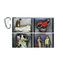 Fairy Tales Canvas Cosmetic Bag (M)