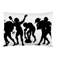 Seven Dwarfs Pillow Case (Two Sides)