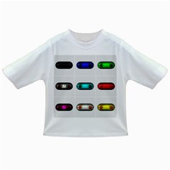 9 Power Button Infant/Toddler T-Shirts