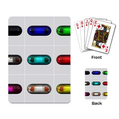 9 Power Button Playing Card