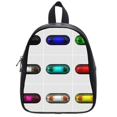 9 Power Button School Bags (Small)
