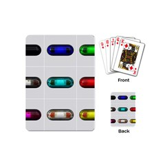 9 Power Button Playing Cards (Mini)