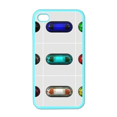 9 Power Button Apple Iphone 4 Case (color)