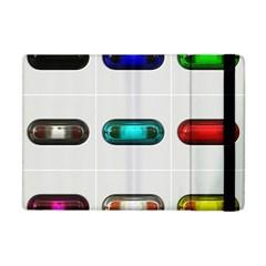 9 Power Button Apple iPad Mini Flip Case