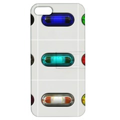 9 Power Button Apple iPhone 5 Hardshell Case with Stand